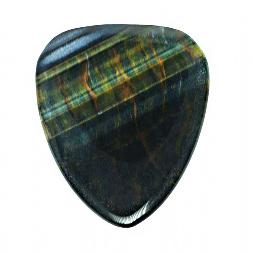 Tiger Tones - Blue Tiger Eye - 1 Pick | Timber Tones